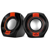 Колонки акустичні REAL-EL S-50 Black/Red