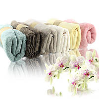 Банное махровое полотенце 72х35 см Bathlux SH88005 SKL11-132445