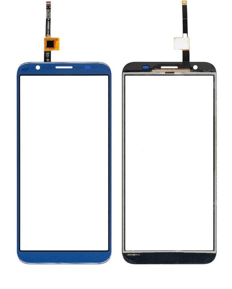Сенсор (тачскрин) для телефона DOOGEE X55 Blue