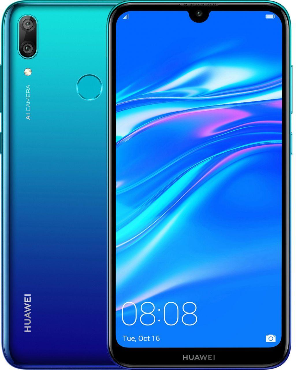 Huawei Y7 2019 3/32Gb 51093HEU Aurora Blue