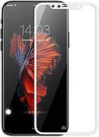 Защитное стекло Baseus Tempered Glass Film Apple iPhone X White