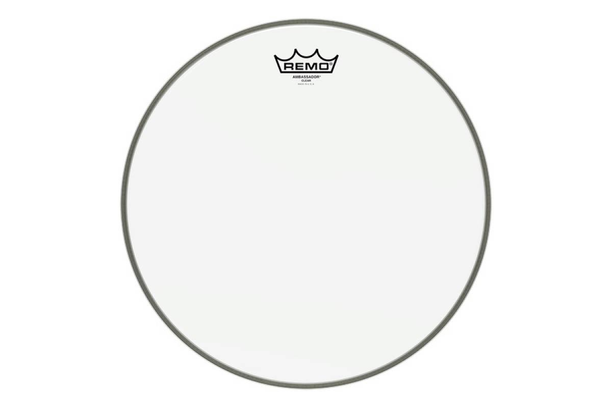 "Пластик для барабана REMO Bass, AMBASSADOR, Clear, 20"" Diameter"
