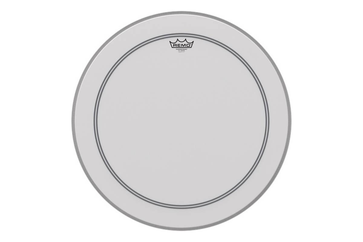 "Пластик для барабана REMO Bass, POWERSTROKE 3, Coated, 22"" Diameter"