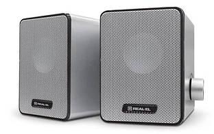 Колонки акустичні REAL-EL S-65 Silver