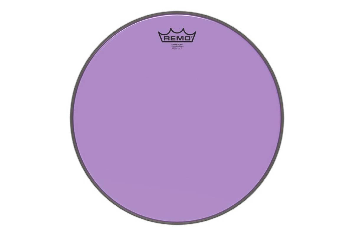 "Пластик для барабана REMO EMPEROR 12"" COLORTONE PURPLE"
