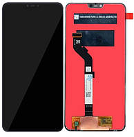 Дисплей (экран) для телефона Xiaomi Mi 8 Lite + Touchscreen Black