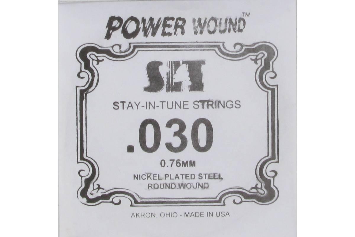Струна для электрогитары SIT STRINGS 030PW