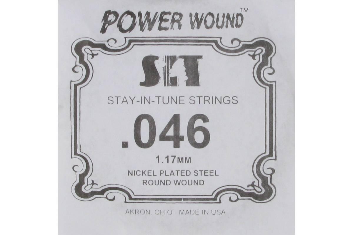 Струна для электрогитары SIT STRINGS 046PW