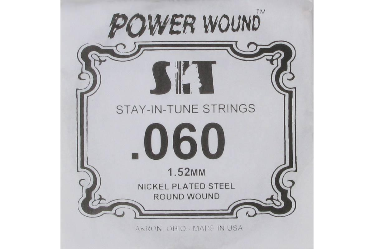 Струна для электрогитары SIT STRINGS 060PW