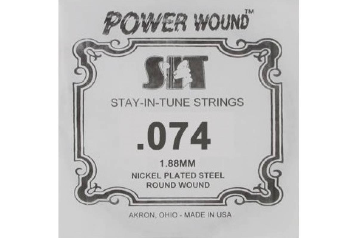 Струна для электрогитары SIT STRINGS 074PW