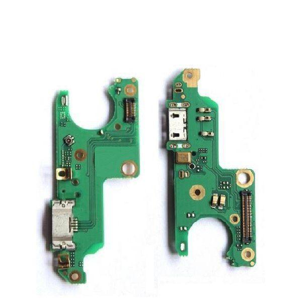 Нижняя плата Nokia 6 Dual Sim (TA-1021 / TA-1033) с разъемом зарядки и микрофоном