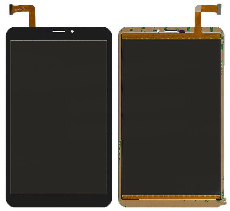 Сенсор (тачскрин) Bravis NB85 3G IPS, Onda V819 3G (7.0, 204x120, 50pin, #FPCA-80A04-V01, CN069FPC-V0) Black