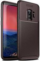 Чохол iPaky Kaisy Samsung Series G960 Galaxy S9 Brown