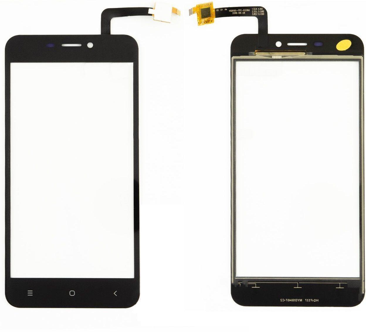 Сенсор (тачскрин) для телефона Oukitel C9 Black