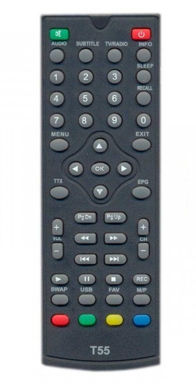 Пульт для телевізійного тюнера World Vision T55 DVB-T2 (225367)