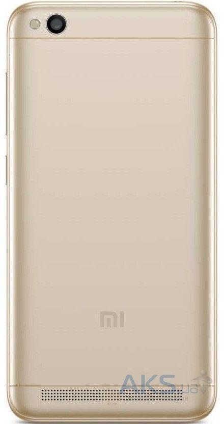Задняя крышка корпуса Xiaomi Redmi 5A Gold