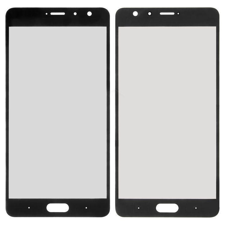 Корпусное стекло дисплея Meizu Pro 7 Black