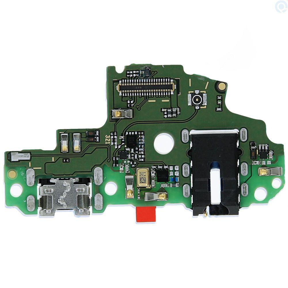 Шлейф Huawei P Smart (FIG-LX1 / FIG-LX2 / FIG-LX3 / FIG-LA1) / Enjoy 7s з роз'ємом зарядки, з роз'ємом