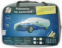 Тент автомобильный MILEX PEVA+PP Cotton XXL ( серый+зеркало+замок) (шт.)