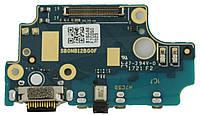 Шлейф Nokia 8 Dual Sim (TA-1004/TA-1012) нижня плата з роз'ємом зарядки і мікрофоном Original