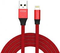 Кабель USB GOLF Lightning Red (GC-55i)
