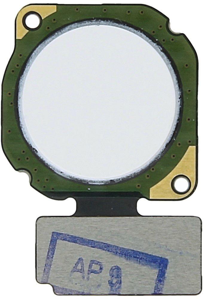 Шлейф Huawei P20 Lite / Nova 3e с сканером отпечатка пальца White