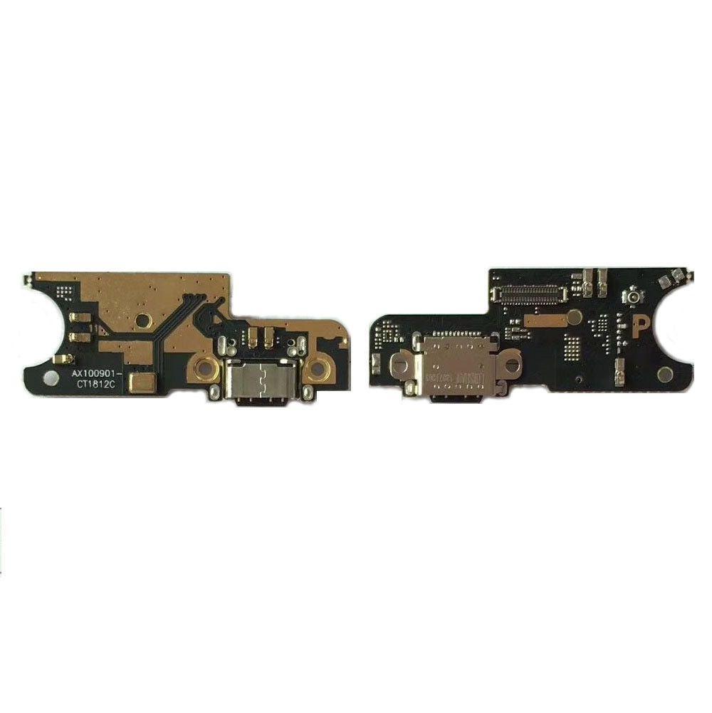 Шлейф Xiaomi Pocophone F1 нижня плата з роз'ємом зарядки і мікрофоном
