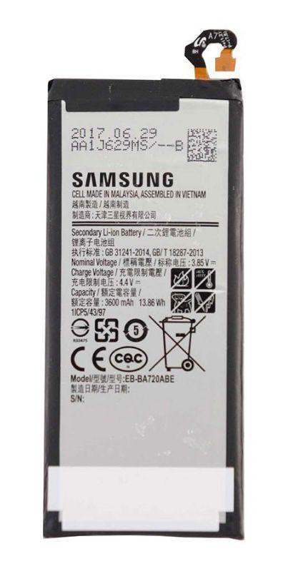 Аккумулятор Samsung A720 Galaxy A7 2017 / EB-BA720ABE (3600 mAh)