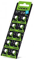 Батарейки Videx SR736SW (384) (392) (LR41) 10шт
