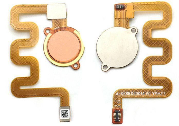 Шлейф Xiaomi Mi A2 Lite / Mi 6 Pro зі сканером відбитка пальця Gold