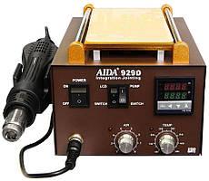 Паяльна станція комбінована термовоздушная, турбінна, з сепаратором Aida 929D (Фен, сепаратор, 700Вт)