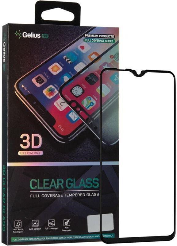 Защитное стекло Gelius Pro 3D Samsung A107 Galaxy A10s Black(75555)