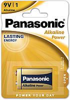 Батарейка Panasonic 6LF22 (крона) Alkaline Power 1шт (6LF22APB/1BP)