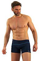 Мужские плавки боксеры (M31402) Sesto Senso XL Темно-синий