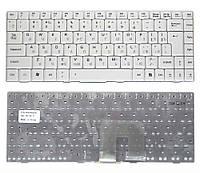 Клавиатура для ноутбука Asus U3 F6 F9 вертикальный энтер белая