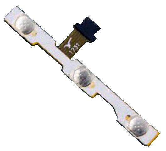 Шлейф Huawei Honor 6C Pro (JMM-L22) з кнопкою включення і кнопками регулювання гучності Original