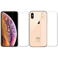 Захисна плівка BoxFace Polyurethane Apple iPhone Xs, iPhone X Face and Back Clear