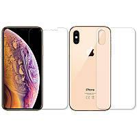 Защитная пленка BoxFace Противоударная Apple iPhone Xs, iPhone X Face and Back Clear (BOXF-IPHONE-XS-FB)