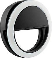 Селфи-кольцо Selfie ring MP01 black SKL11-149756