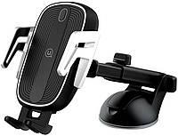 Автодержатель с беспроводной зарядкой Usams US-CD101 Automatic Touch Induction Wireless Charging Car Holder