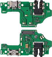 Шлейф Huawei Honor 8X з роз'ємом зарядки, навушників та мікрофоном