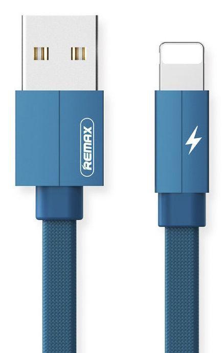 Купить Кабель USB Remax Kerolla Lightning Cable Blue (RC-094i)
