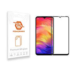 Защитное стекло Powermax 3D Premium Xiaomi Redmi Note 7, Redmi Note 7 Pro Black (PWRMX3DXRN7B)