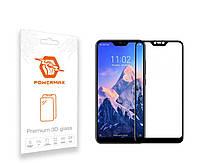 Защитное стекло Powermax 3D Premium Xiaomi Redmi Note 6 Pro Black (PWRMX3DXRN6B)