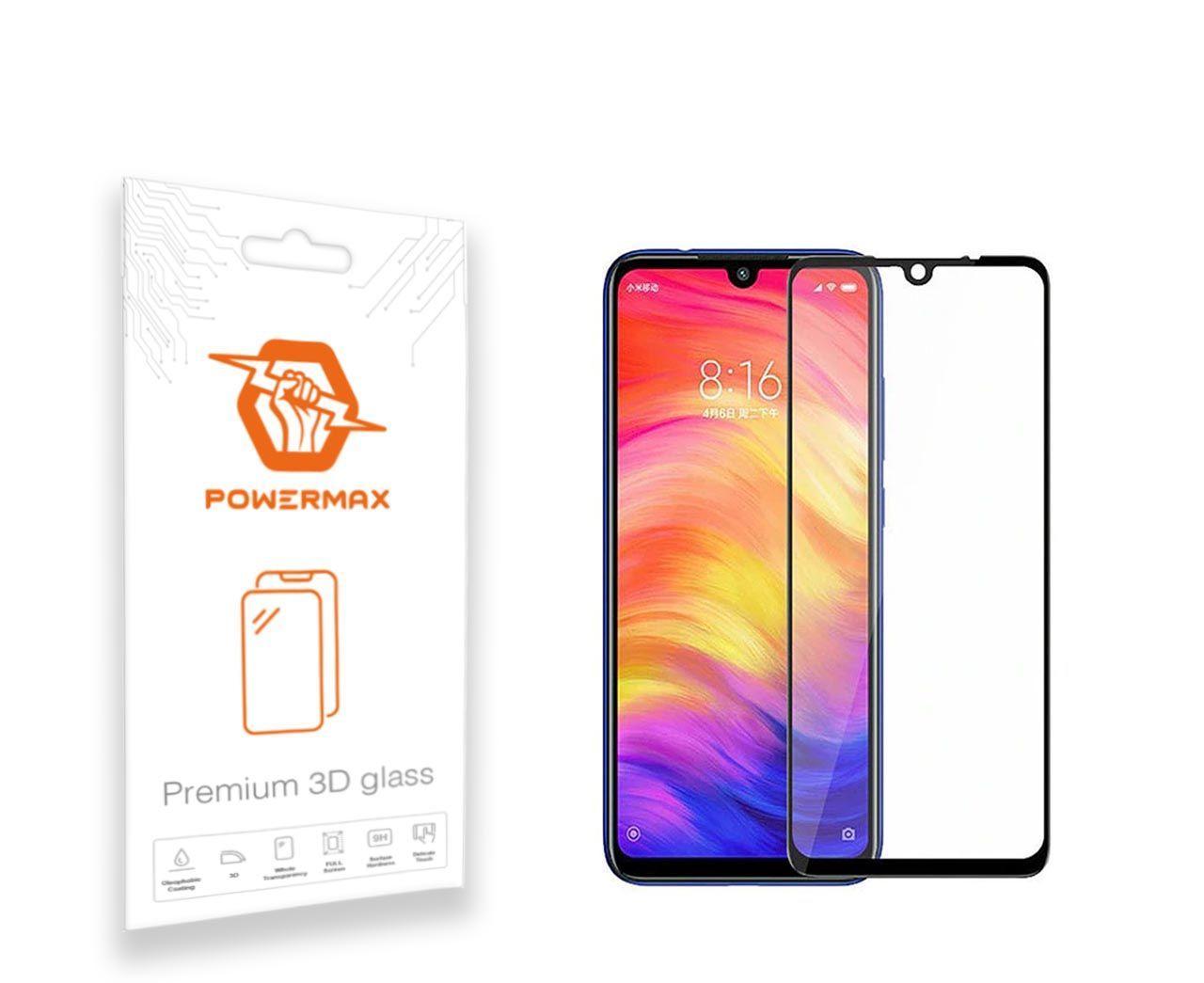 Защитное стекло Powermax 3D Premium Xiaomi Redmi 7 Black (PWRMX3DXR7B)