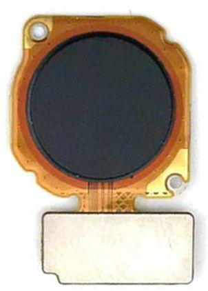 Шлейф Huawei P Smart Plus (INE-LX1) / Nova 3 / Nova 3i зі сканером відбитка пальця Black
