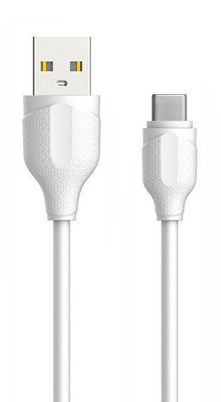 Кабель USB Powermax Premium Type-C Cable White (PWRMXC1TC)