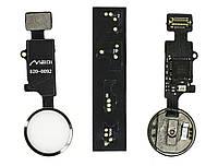Універсальна кнопка Home Bluetooth iPhone 7 / 8 / 7 Plus / 8 Plus на шлейфі Silver