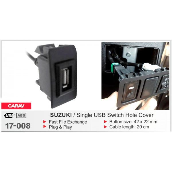 Автомобильный USB разъём CARAV Suzuki (17-008)