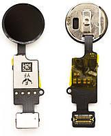 Кнопка Home iPhone 7 / 8 / 7 Plus / 8 Plus на шлейфі Original Black